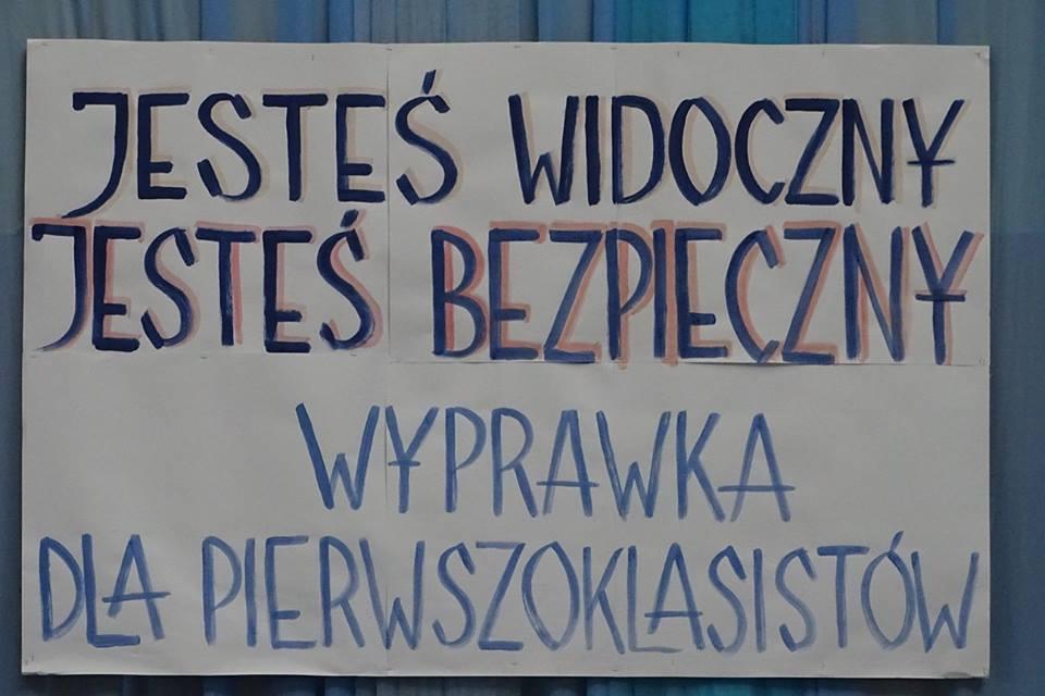 """Subregion Płocki – Inauguracja kampanii społecznej """"Jesteś widoczny, jesteś bezpieczny – wyprawka dla pierwszoklasistów"""""""