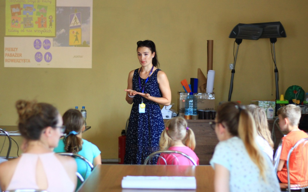 """""""Lato w mieście"""". Wakacyjna akcja edukacyjna dla dzieci."""