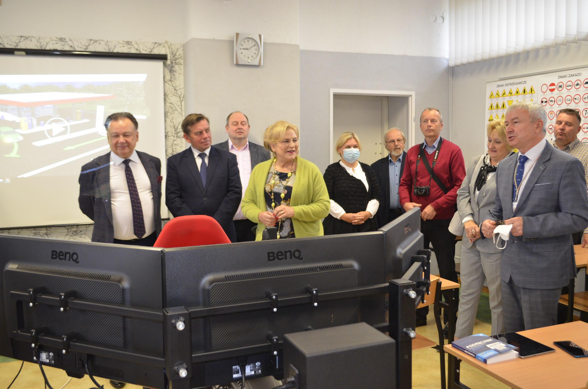 Funkcjonowanie Sali omawia Zastępca Dyrektora WORD w Warszawie.