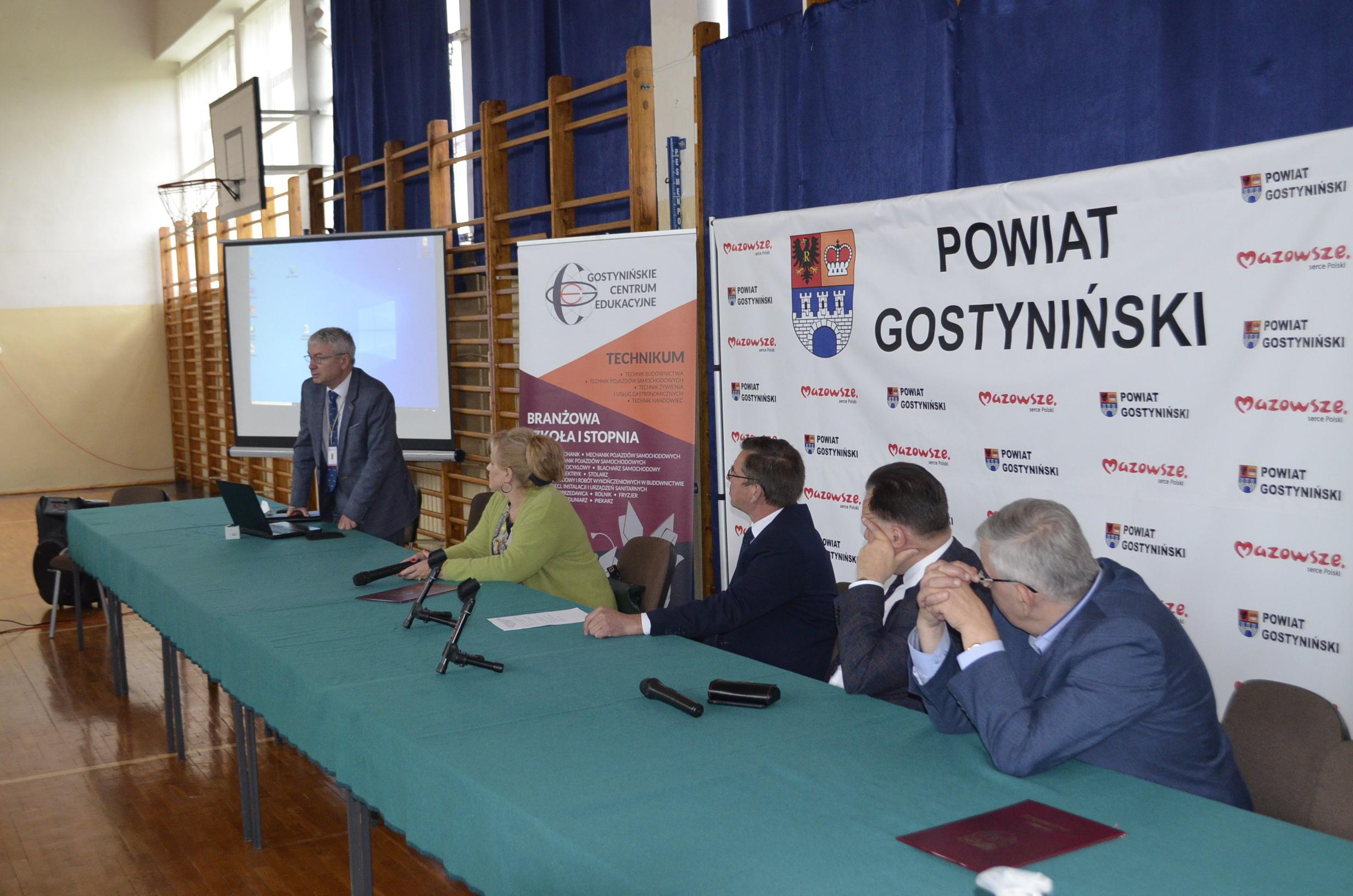 Wystąpienie Zastępcy Dyrektora WORD w Warszawie ilustrujące funkcjonowanie Mazowieckiej Rady BRD.